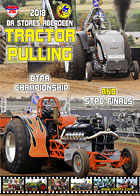 2018 btpa tractor pulling dvd cover ba stores aberdeen