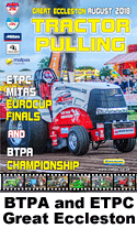 2018 btpa and etpc tractor pulling at great eccleston in august dvd cover and link