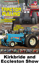 2019 btpa tractor pulling kirkbride and eccleston show dvd cover and link